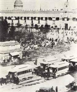 Panorámica de México de principios de siglo.
