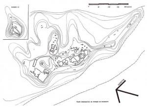 Plano esquemático del Potrero de Payogasta