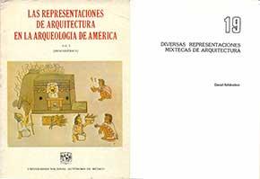 Diversas representaciones mixtecas de arquitectura