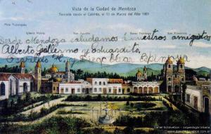 Área fundacional de Mendoza