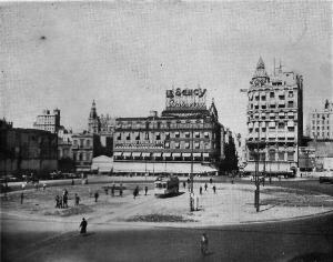 Construcción del Obelisco de Buenos Aires (1936)