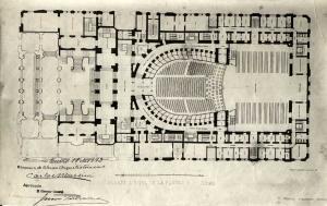 Planos del Teatro Colón de Buenos Aires