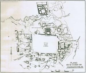 Planos de establecimientos urbanos prehispánicos